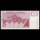 Slovenia, P-03, 5 tolar, 1990