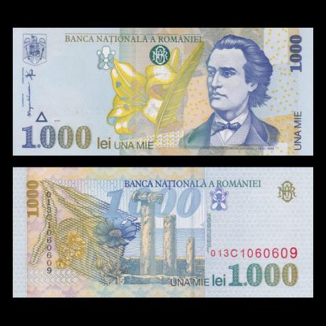 Romania, P-106, 1000 lei, 1998