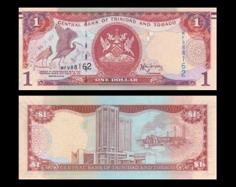 Trinidad & Tobago, P-46b, 1 dollar, 2006