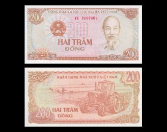 VietNam, P-100, 200 dông, 1987