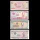 Vietnam, lot de 4 billets, 3700 dông