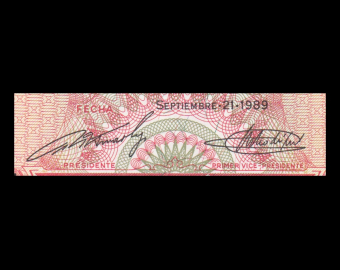 Venezuela, P-070b, 5 bolivares, 1989