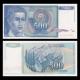 Yougoslavie, P-106, 500 dinara, 1990