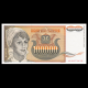 Yugoslavia, p-118, 100 000 dinara, 1993.