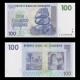 Zimbabwe, P-69, 100 dollars, 2007