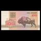 Bielorussie, P-08, 100 roubles, 1992, recto