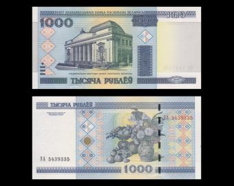 Bielorussie, P-28, 1000 roubles 2000