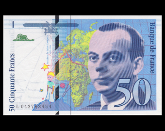 France, P-157Ad, 50 francs, 1997, P-Neuf / A-UNC
