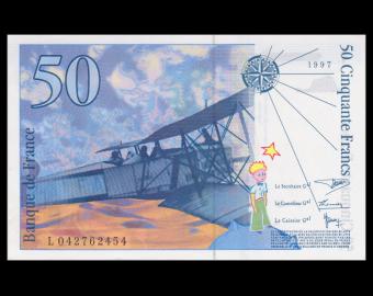 France, P-157Ad, 50 francs, 1997