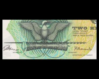 Papouasie Nouvelle Guinée, P-01, 2 kina, 1975