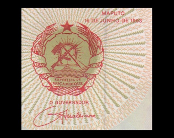 Mozambique, P-139, 100 000 meticais, 1993