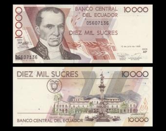 Ecuador, P-127e, 10000 sucres, 1999