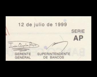 Equateur, P-127e, 10 000 sucres, 1999