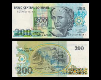 Brazil, P-224b, 100 cruzeiros, 1990