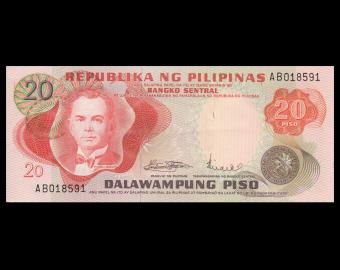 Philippines, P-150, 20 piso, 1970'