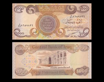 Iraq, P-093a, 1000 dinars, 2003