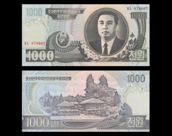 C, P-45b, 1000 won, 2006