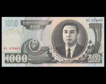 K, P-45b, 1000 won, 2006