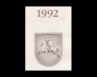 Lithuania, P-44, 500 talonas, 1992