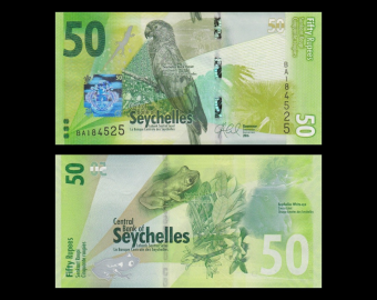 Seychelles, p-49, 50 rupees, 2016