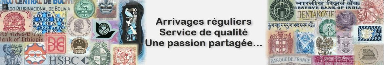 Arrivages réguliers Service de qualité Passion partagée